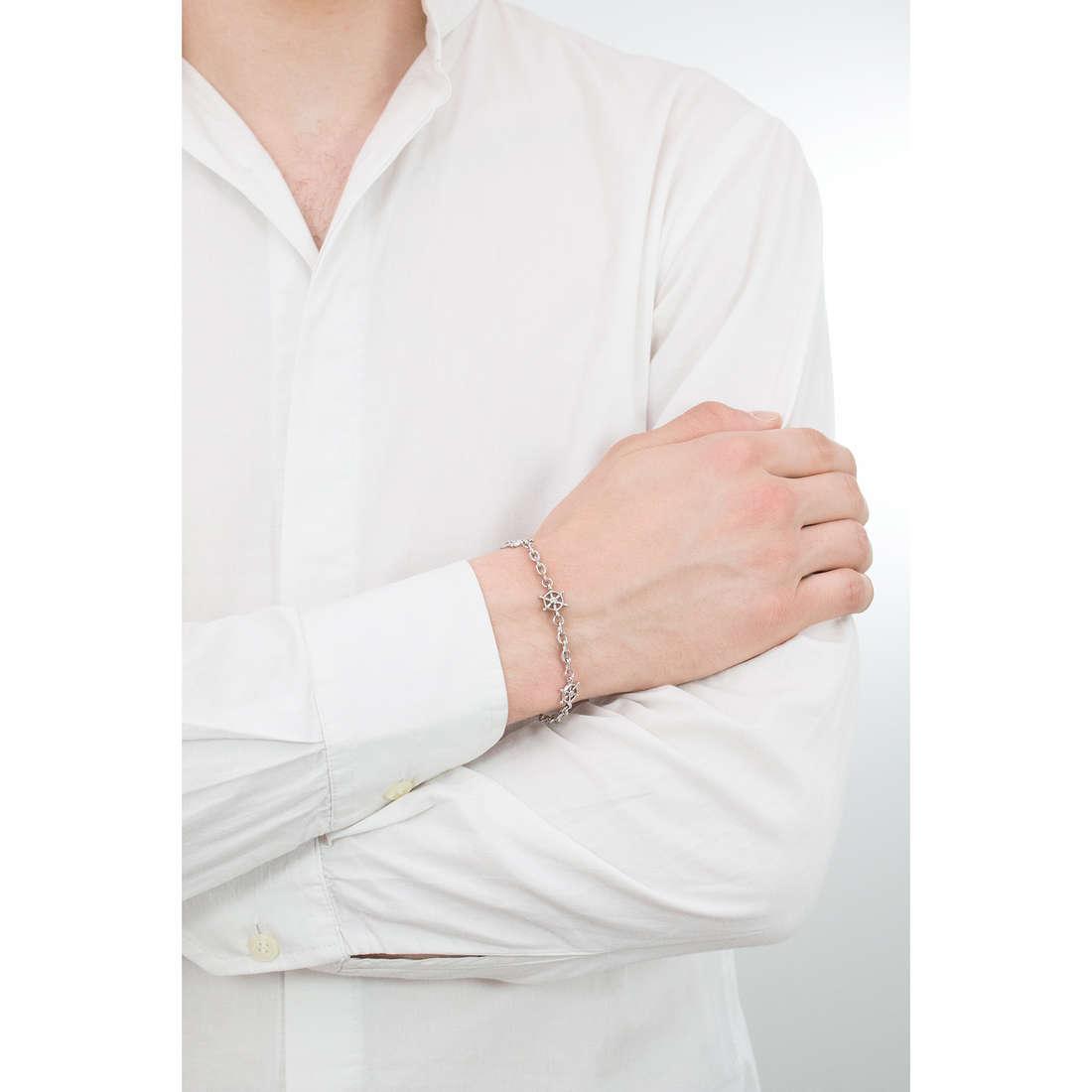 Luca Barra bracciali Sailor uomo LBBA801 indosso