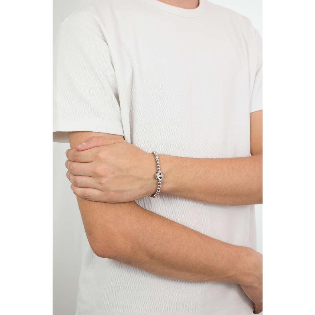 Luca Barra bracciali Sailor uomo LBBA804 indosso