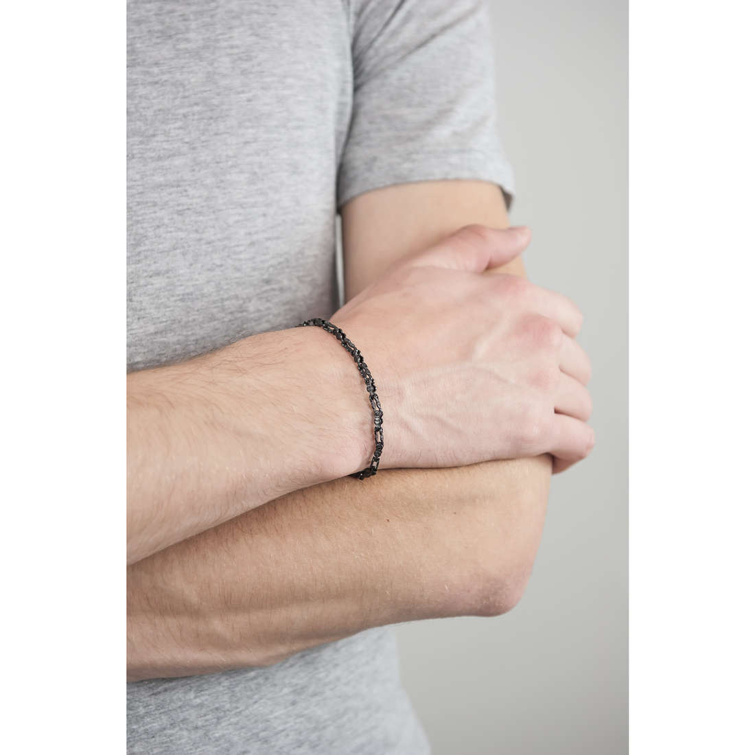 Morellato bracciali Alfa uomo SAEV07 indosso