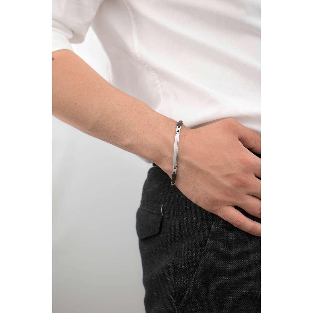 Morellato bracciali Alfa uomo SAEV37 indosso
