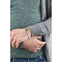 bracciale uomo gioielli Morellato Black & White SWV06