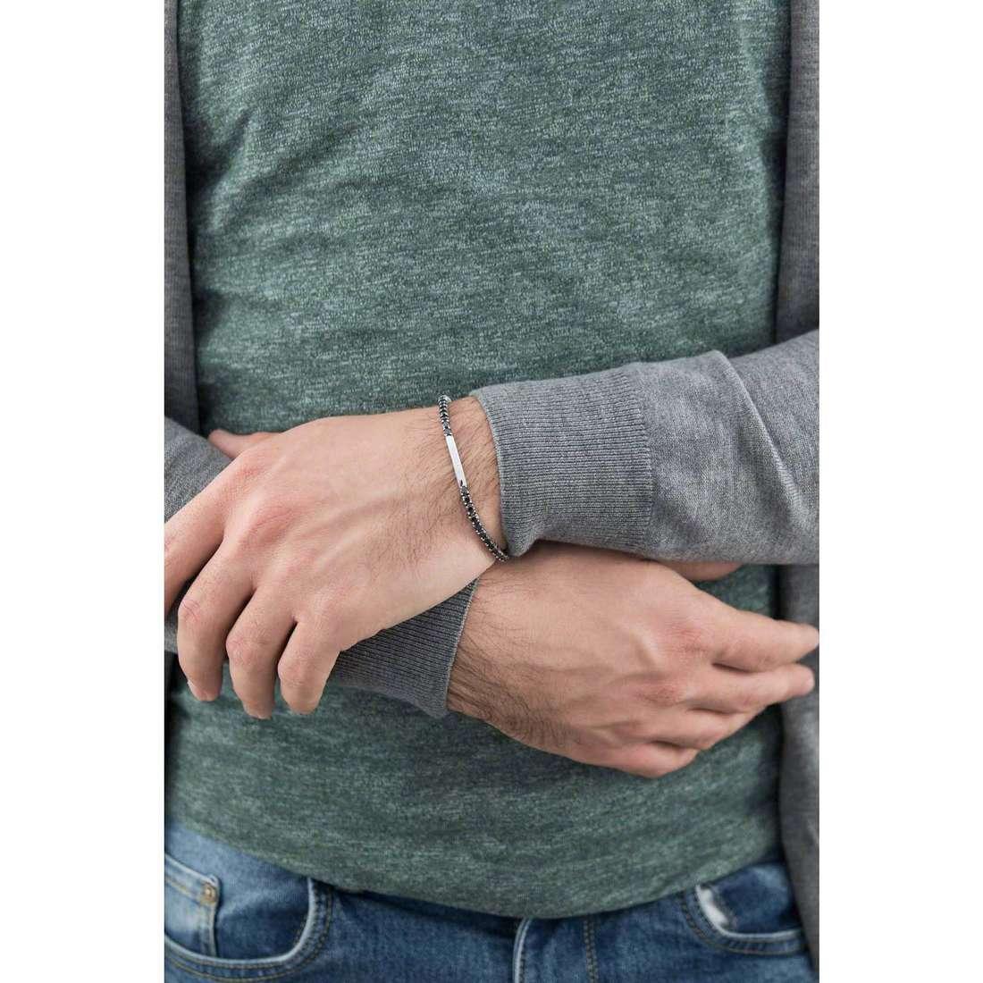 Morellato bracciali Cross uomo SAEV38 indosso