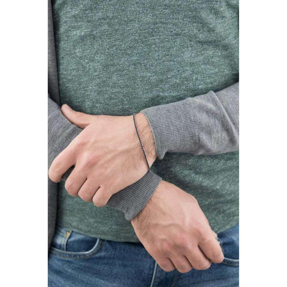Morellato bracciali Studs uomo SADT09 indosso