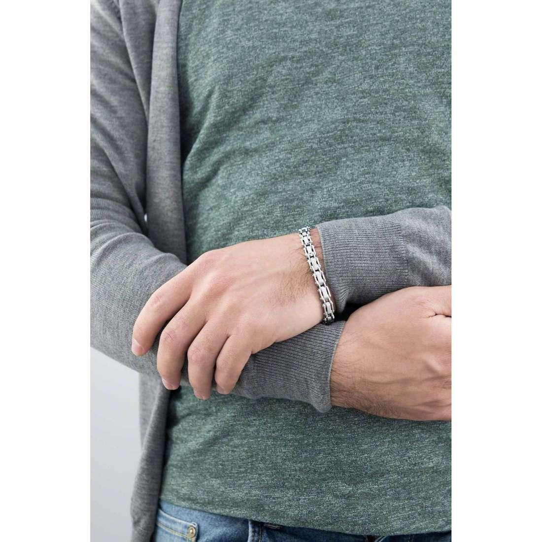 Morellato bracciali Urban uomo SABH07 indosso