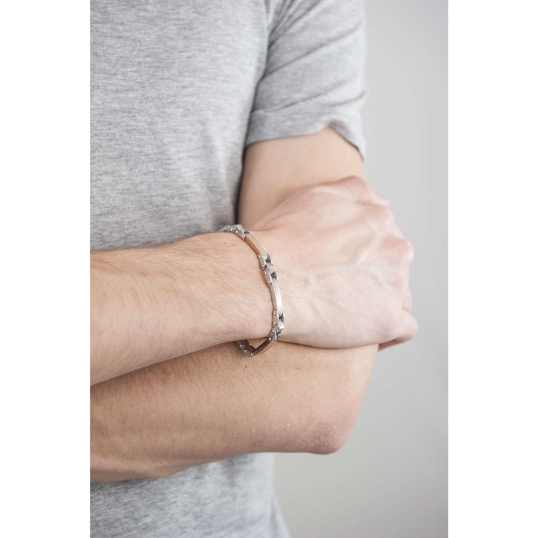 Morellato bracciali Urban uomo SABH09 indosso