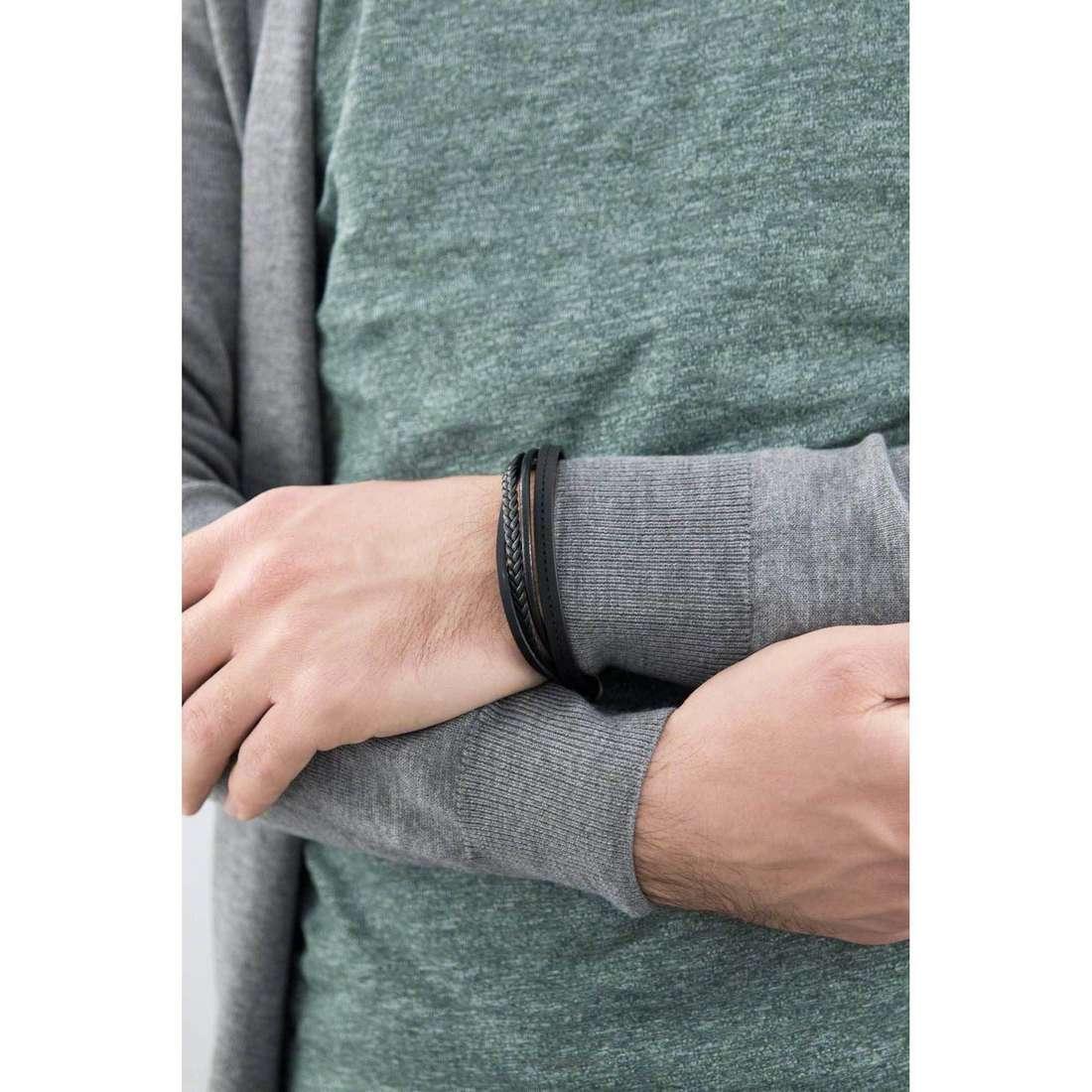 Morellato bracciali Vela uomo SAHC01 indosso