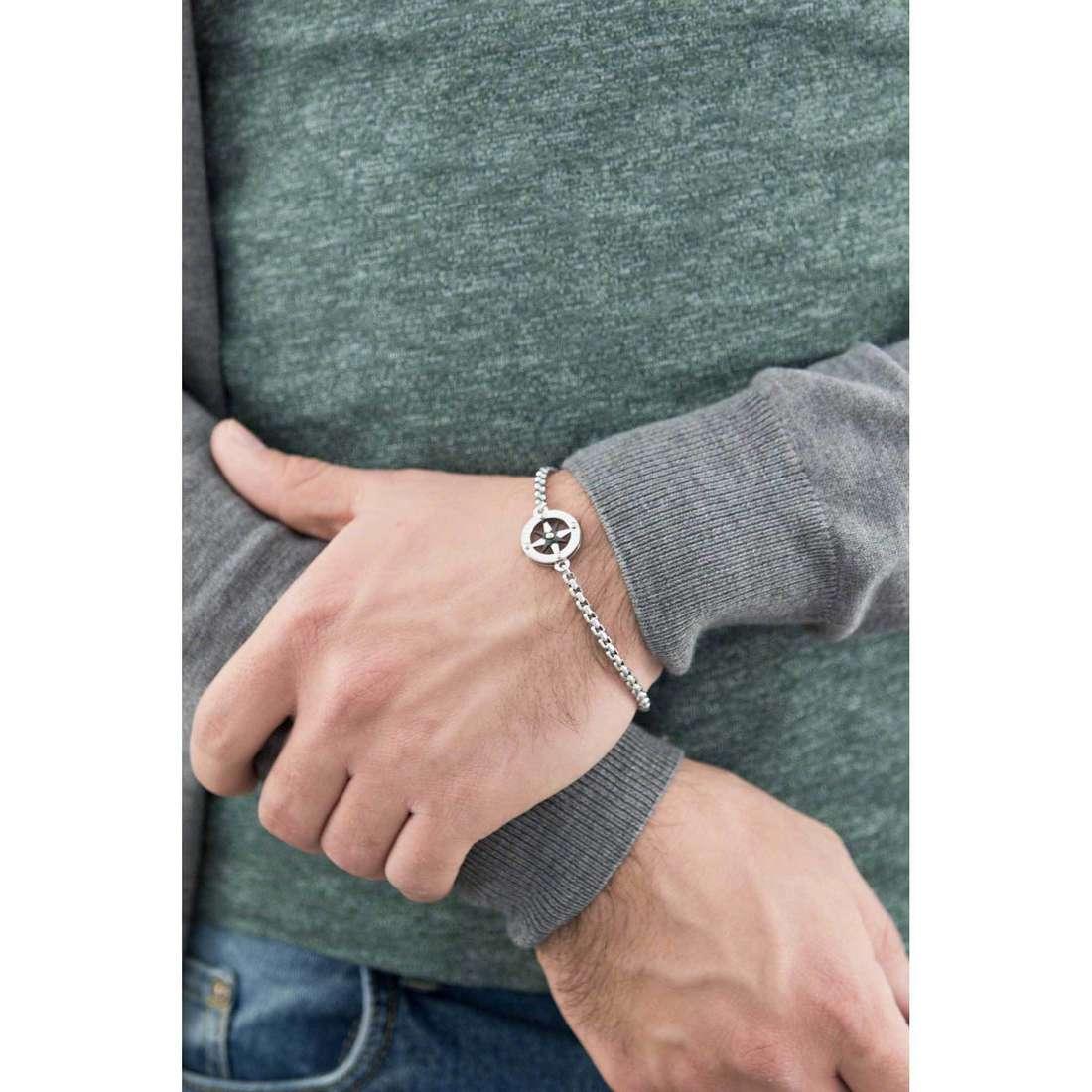 Morellato bracciali Versilia uomo SAHB05 indosso