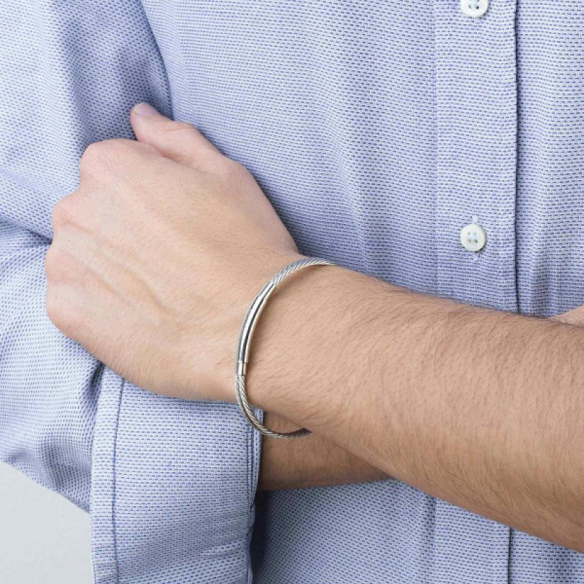 Nomination bracciali Portofino uomo 024113/014 indosso