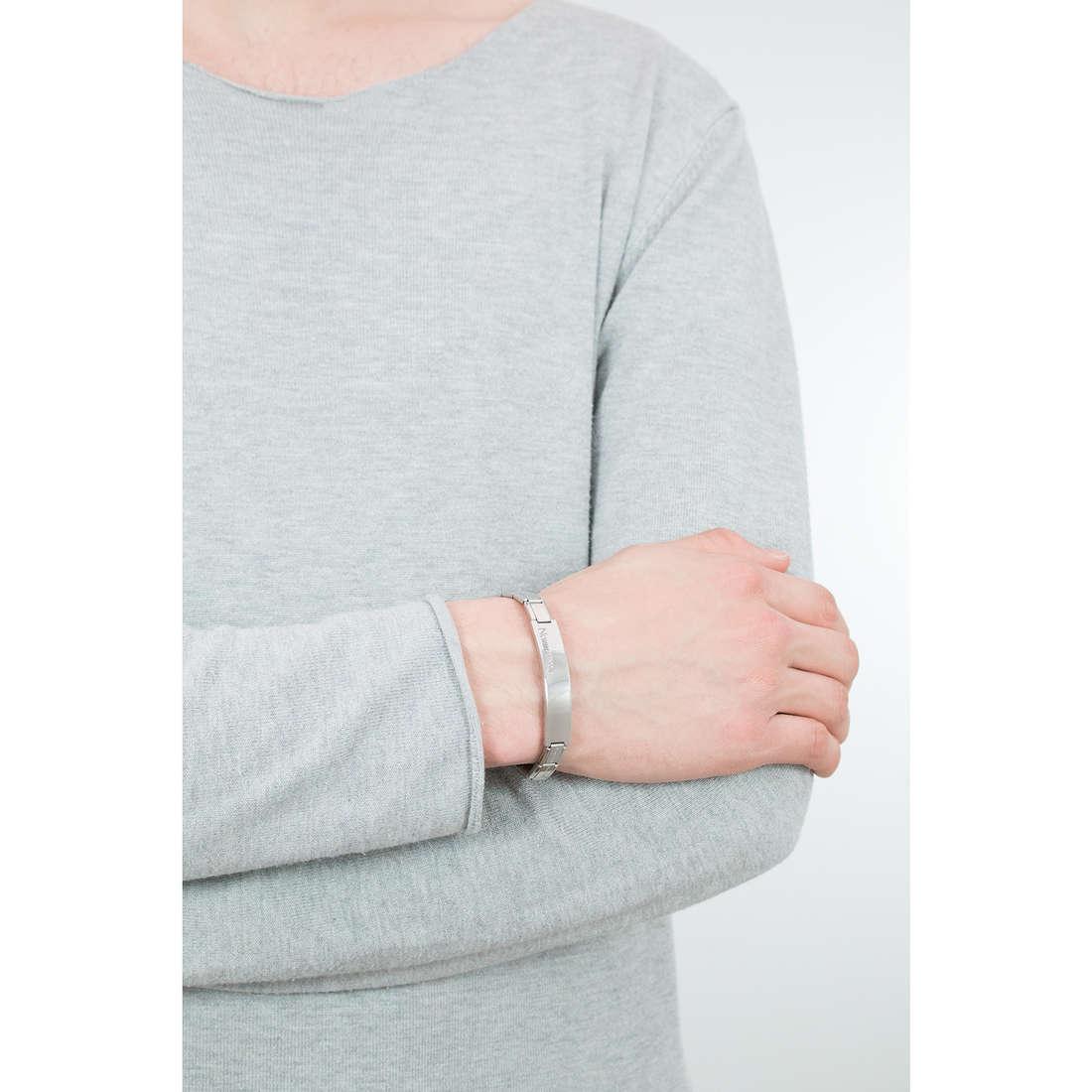 Nomination bracciali Trendsetter uomo 021106/004 indosso