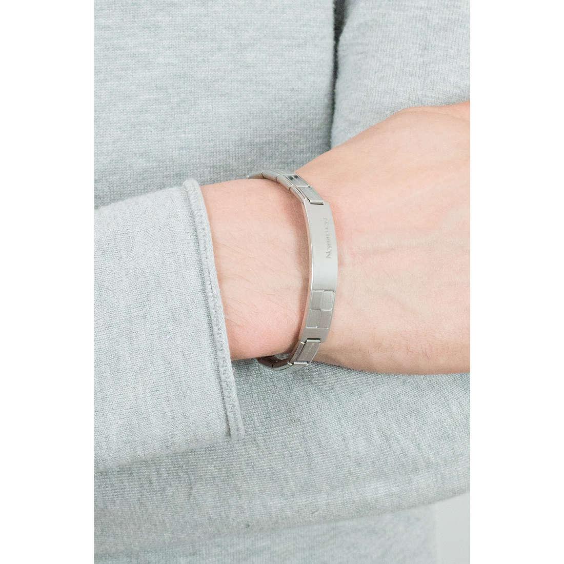Nomination bracciali Trendsetter uomo 021108/006/004 indosso