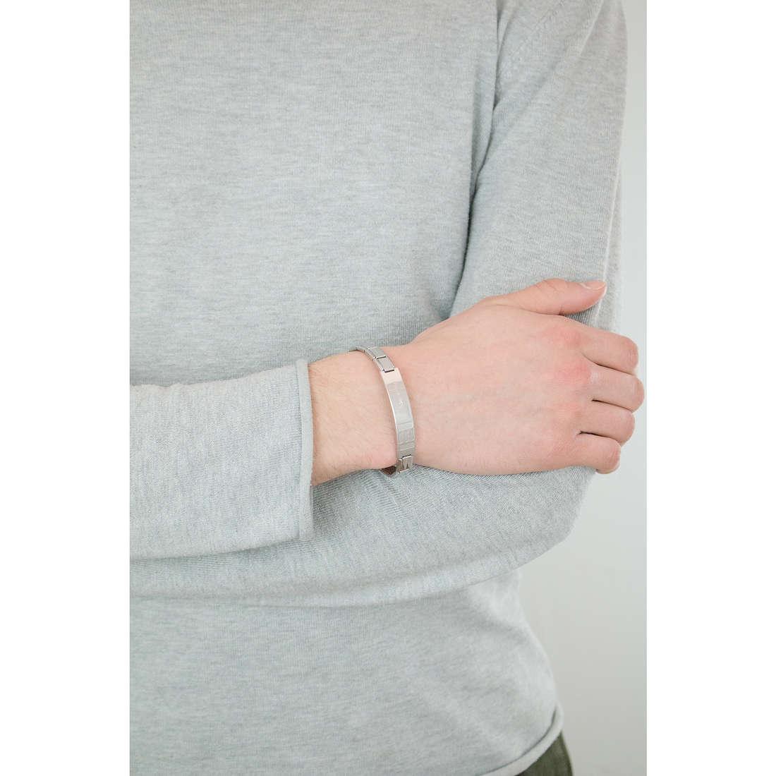 Nomination bracciali Trendsetter uomo 021108/008/004 indosso