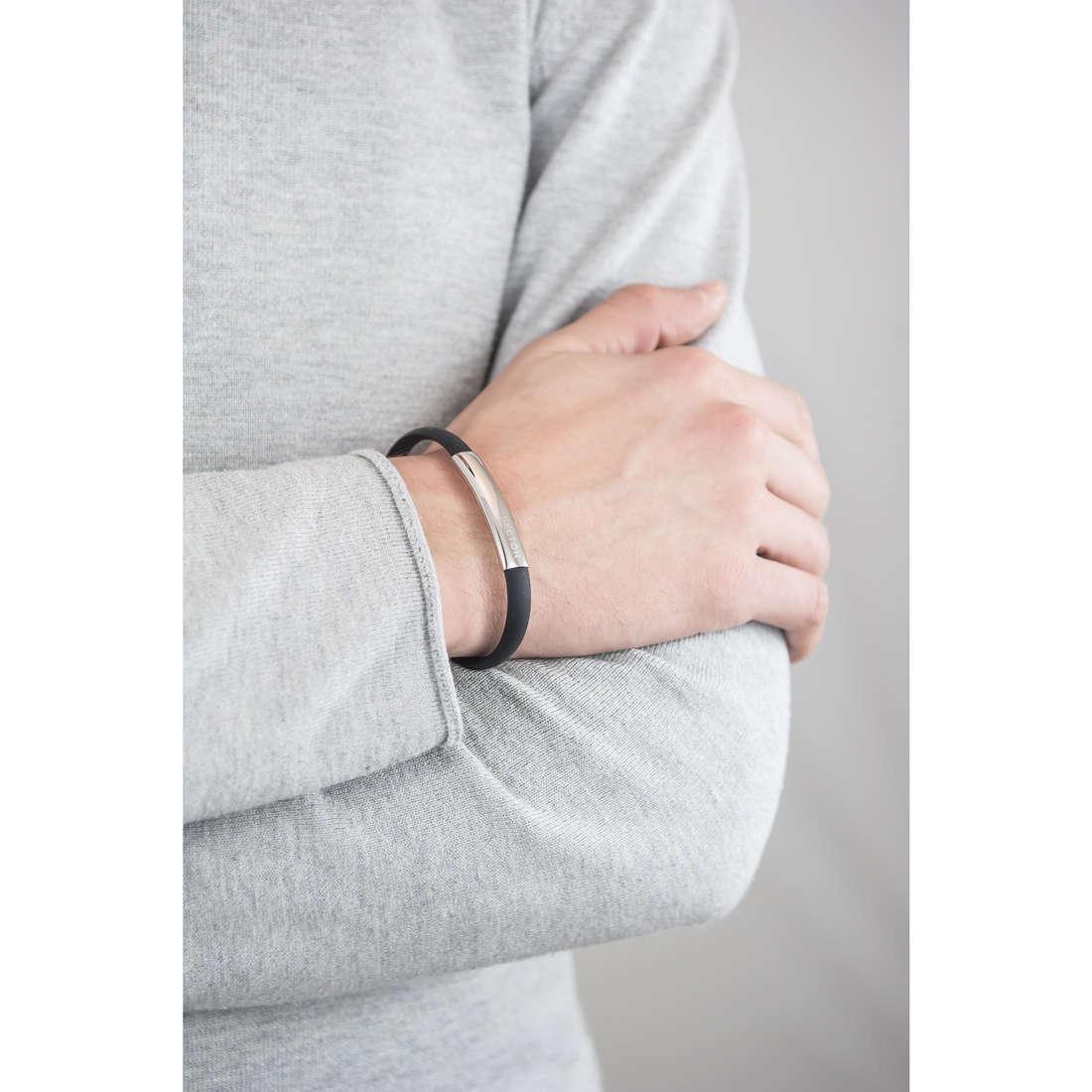 Sector bracciali Basic Soft uomo SAFB02 indosso