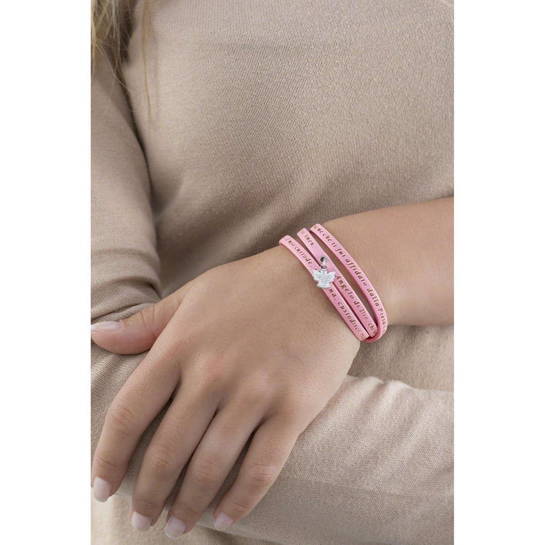 Amen bracelets Angelo di Dio femme AS-ADIT04-48 indosso
