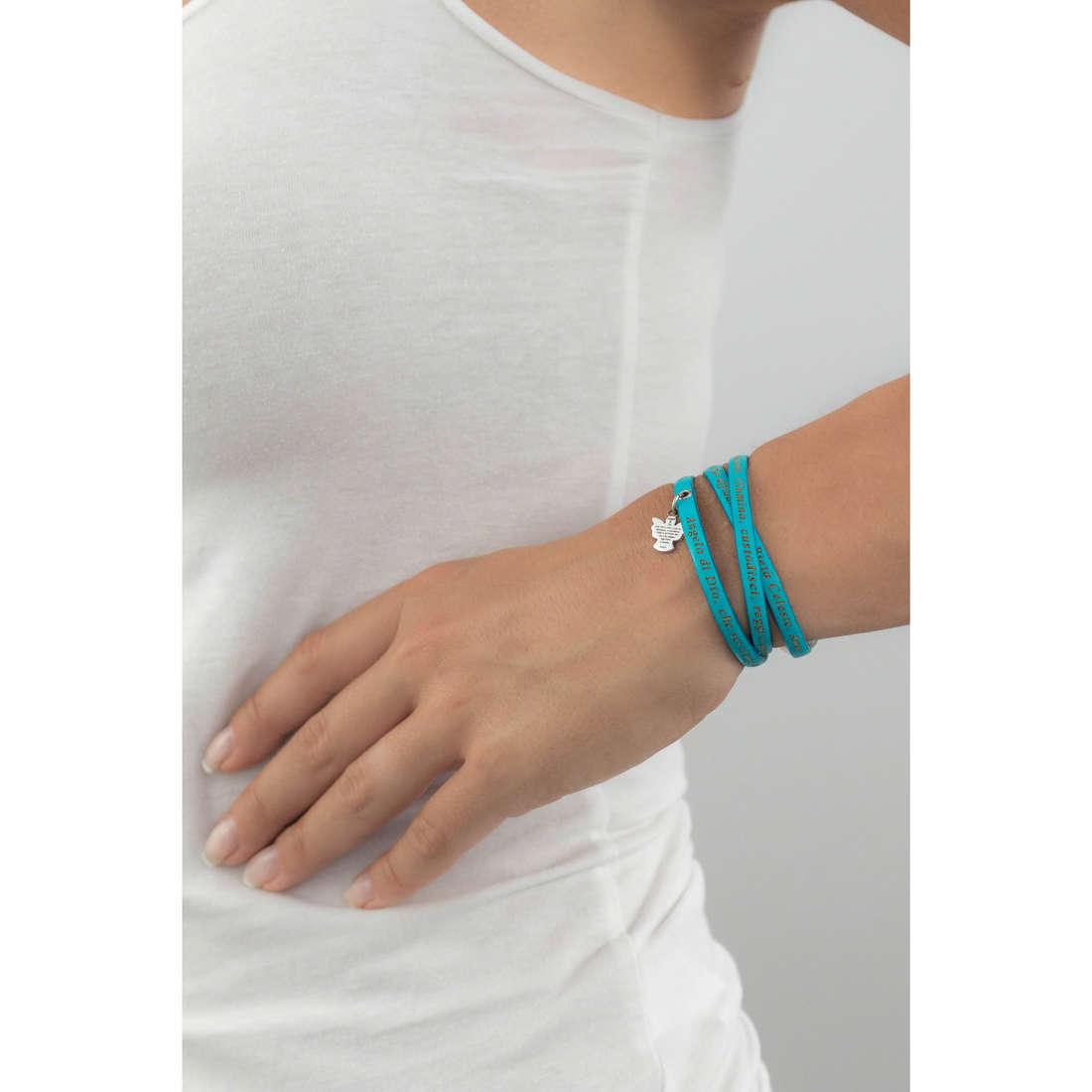 Amen bracelets Angelo di Dio femme AS-ADIT13-48 indosso