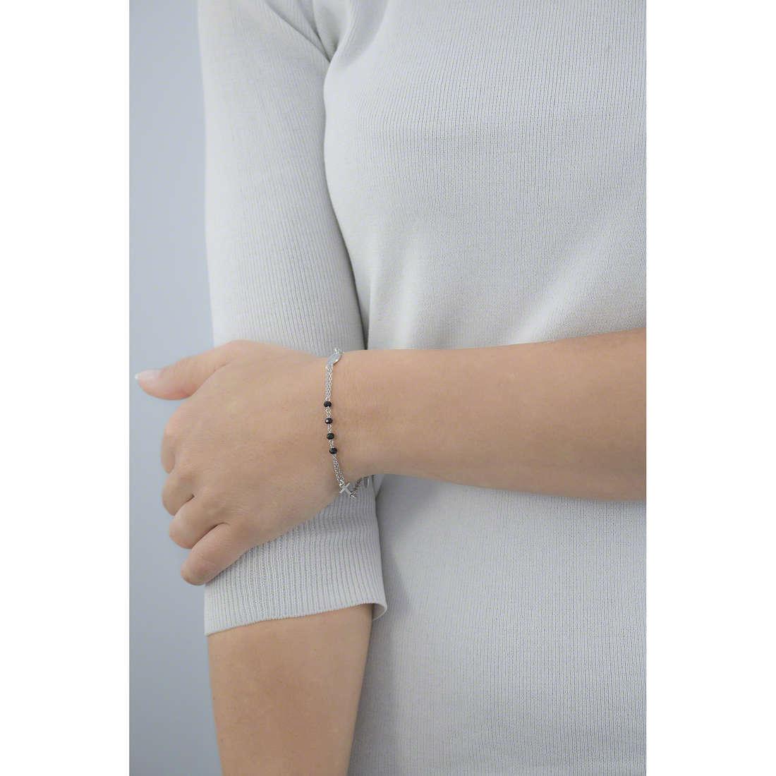 Amen bracelets Rosario femme BROBN3 indosso