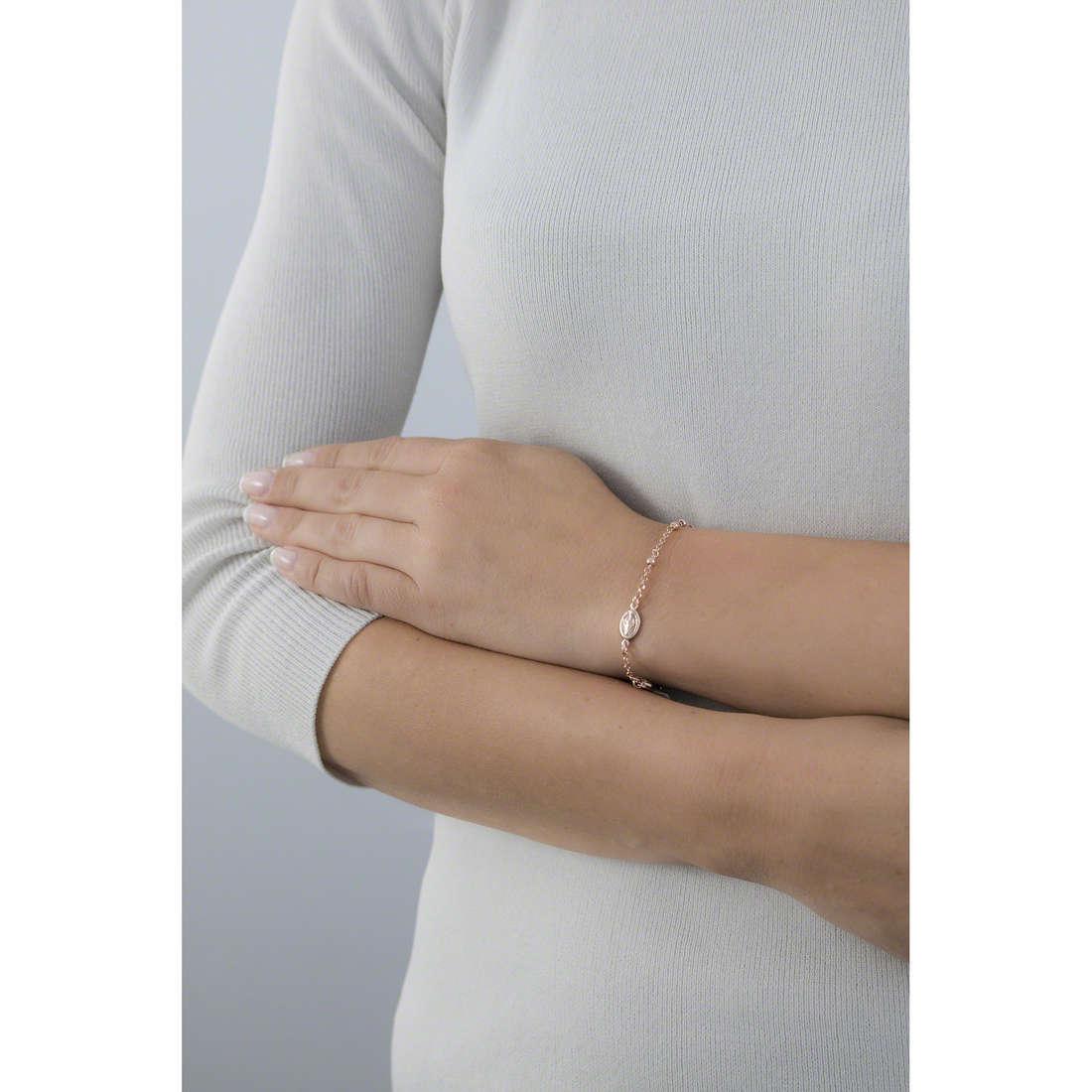 Amen bracelets Rosario femme BROR4 indosso