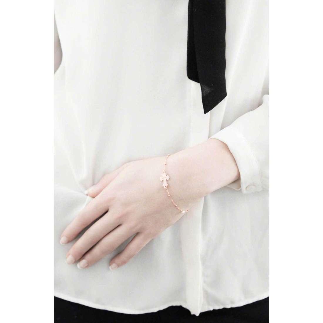 Amen bracelets femme BRRMPB3 indosso