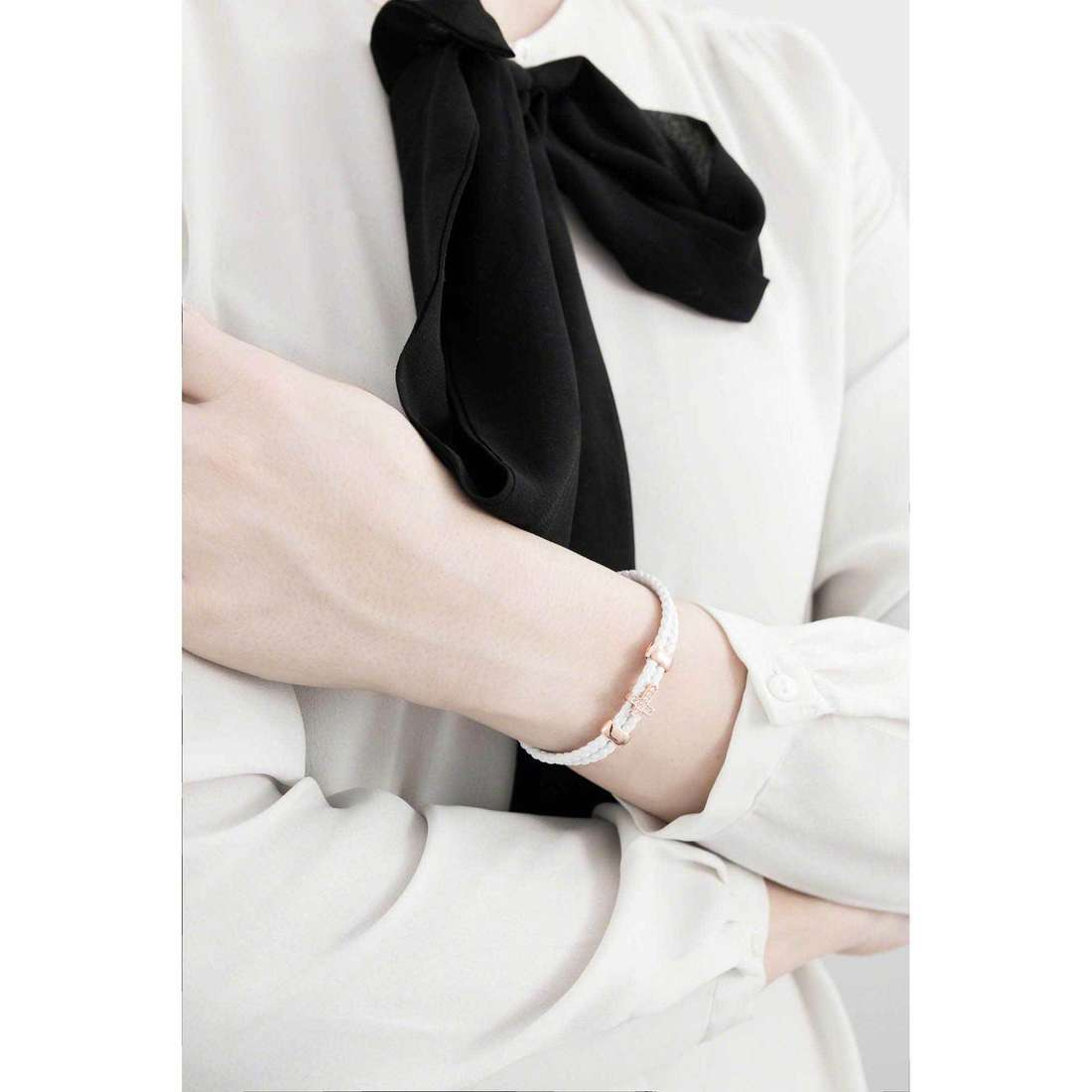 Amen bracelets Croce femme CR07R-19 indosso