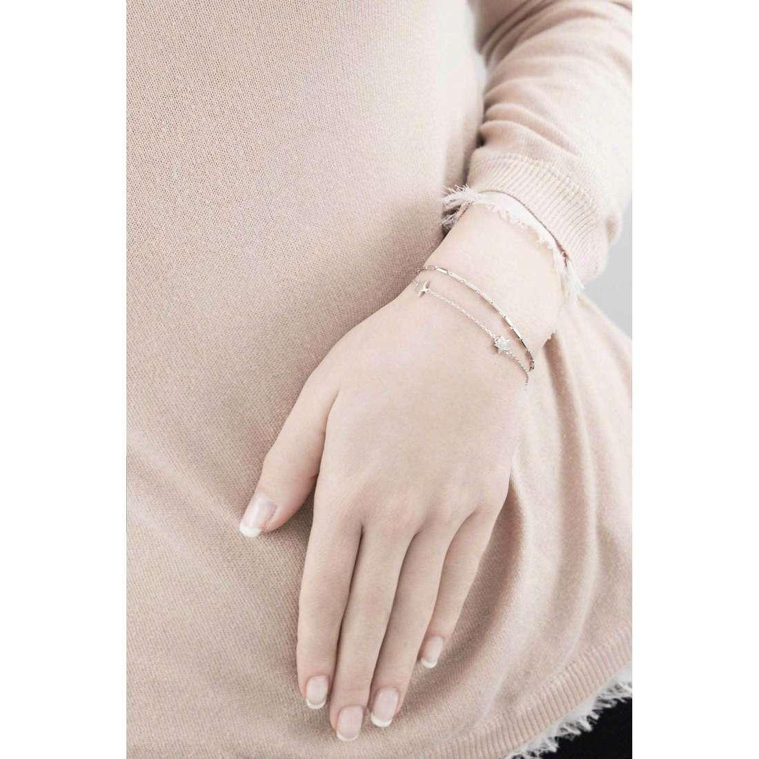 Brosway bracelets Etoile femme G9ET13 indosso