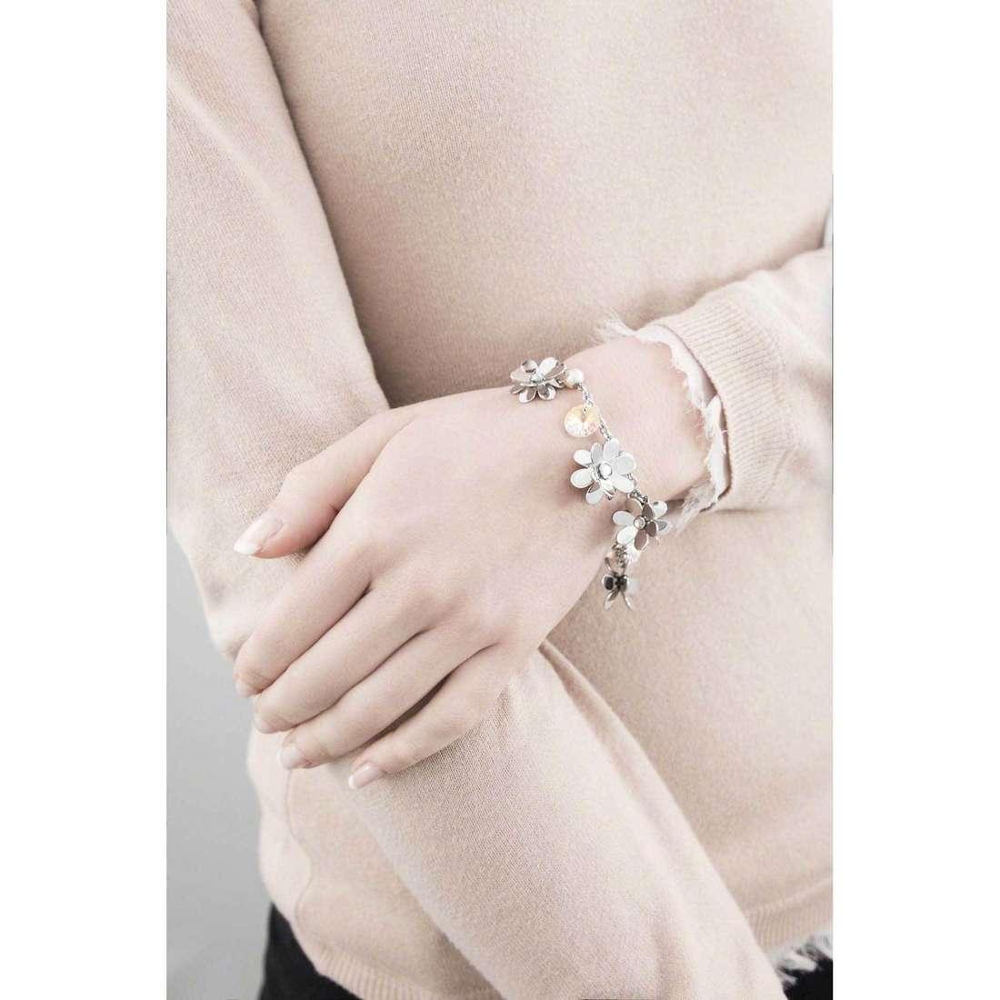 Brosway bracelets Jardin femme BJR12 indosso