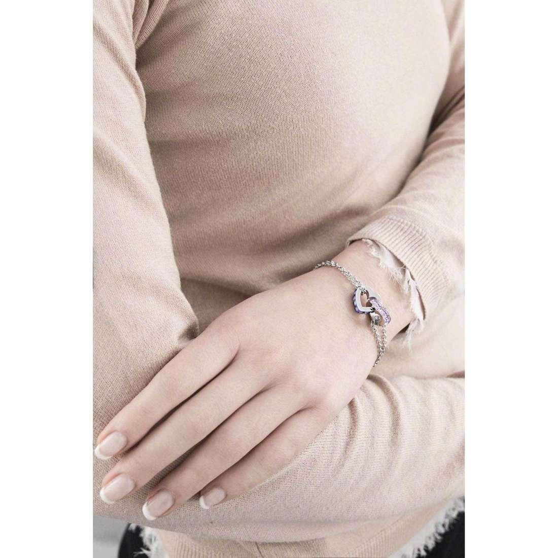 Brosway bracelets Romeo & Juliet femme BRJ14 indosso