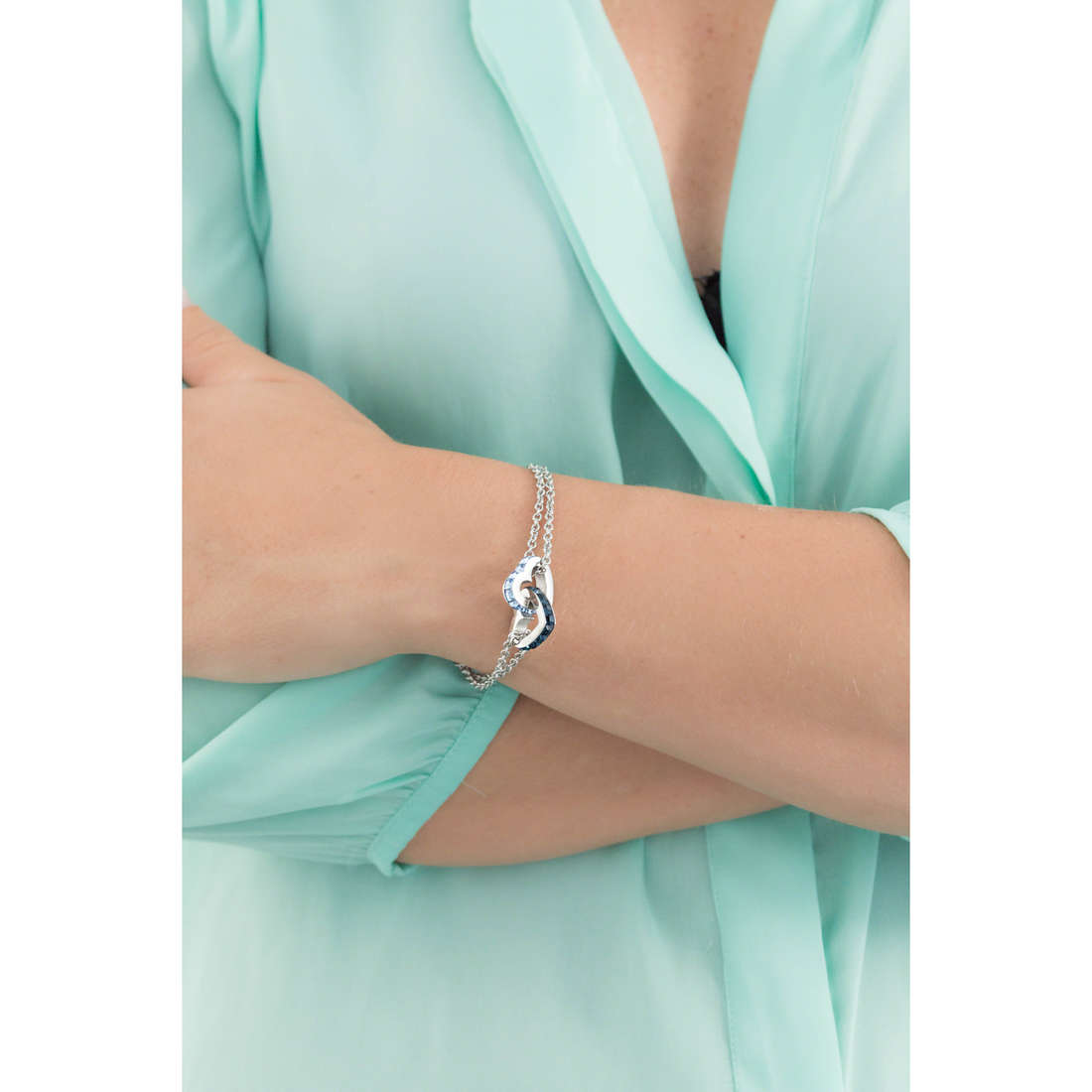 Brosway bracelets Romeo & Juliet femme BRJ15 indosso
