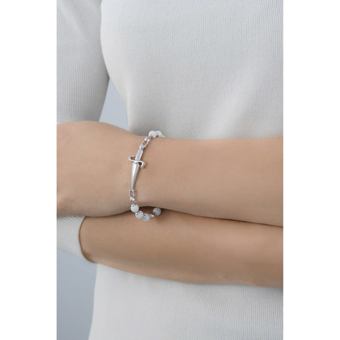Cesare Paciotti bracelets femme JPBR0124B indosso