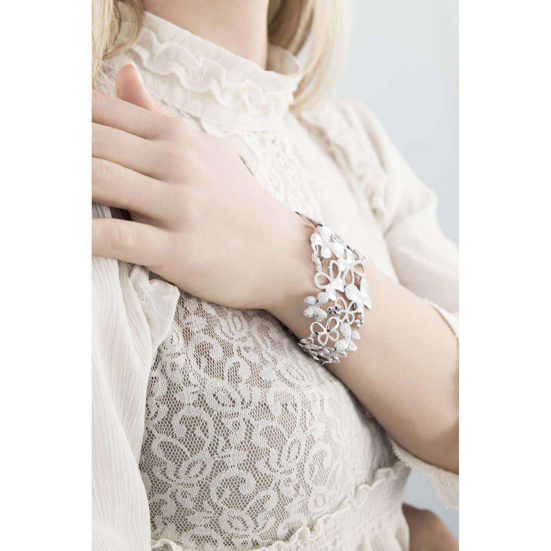 Comete bracelets Farfalle femme BRA 133 photo wearing