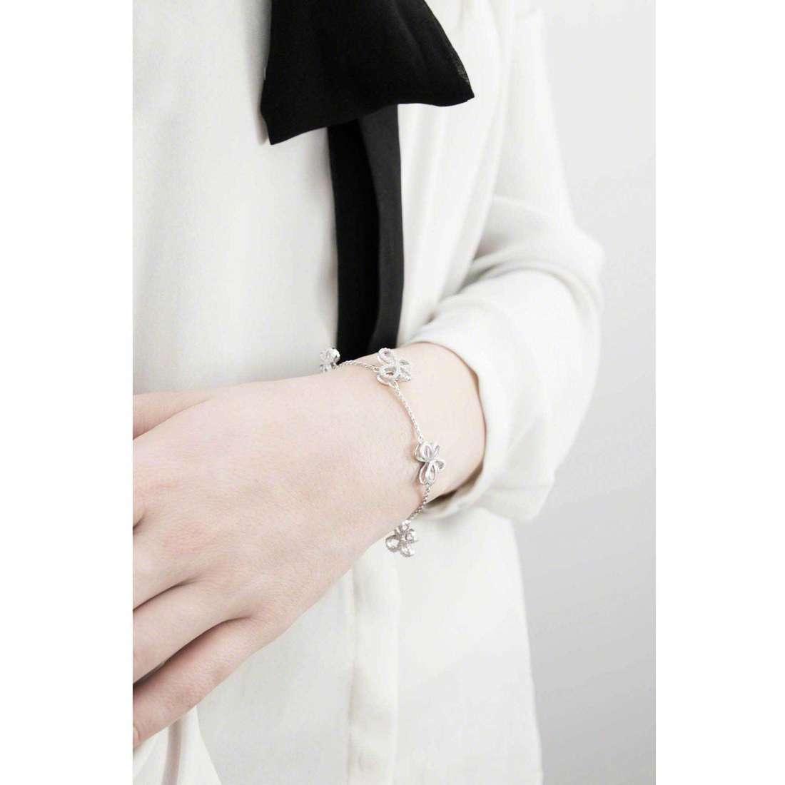 Comete bracelets Farfalle femme BRA 139 photo wearing