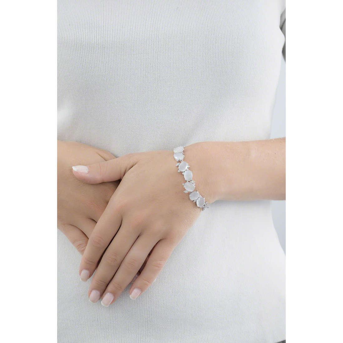 Comete bracelets Farfalle femme BRA 140 indosso