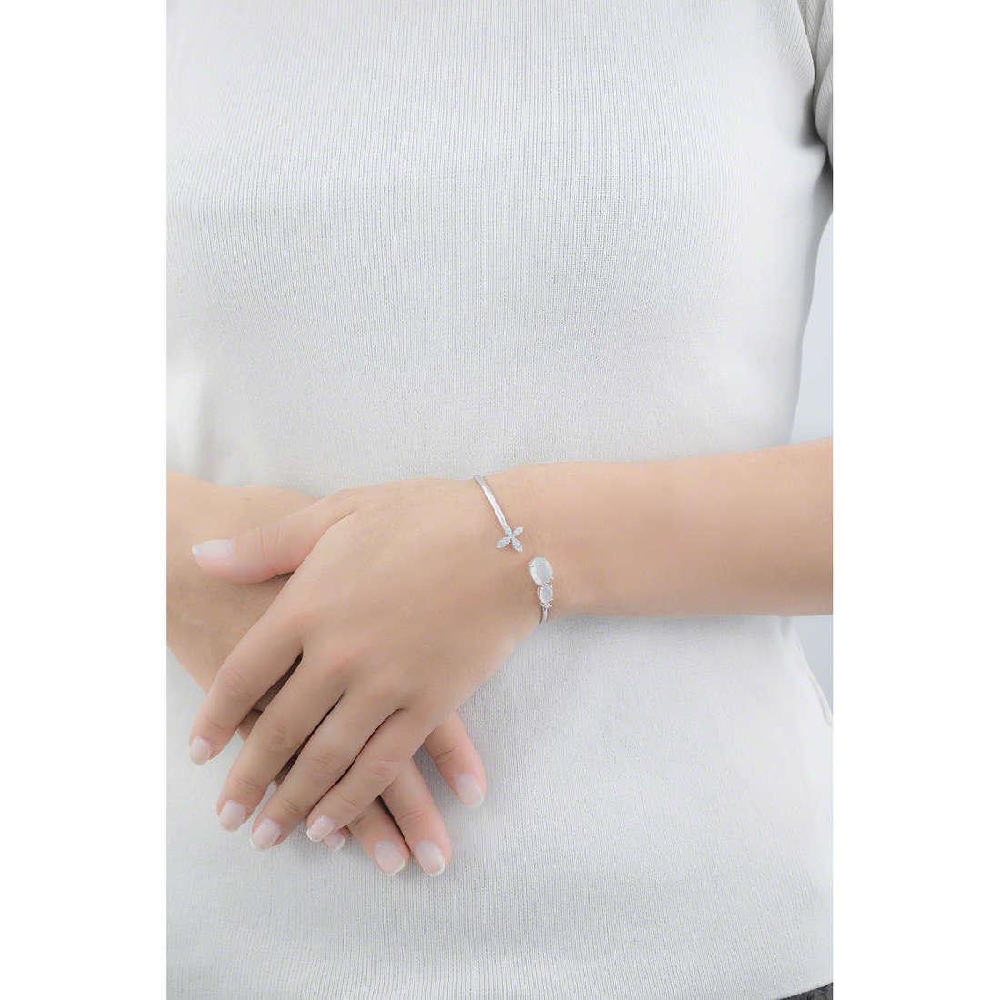 Comete bracelets Farfalle femme BRA 141 indosso