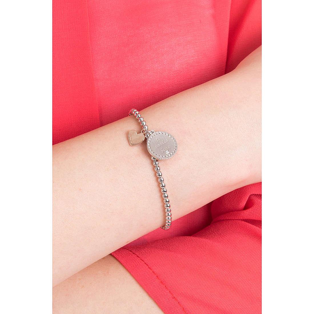Comete bracelets Love Tag femme BRA 148 photo wearing