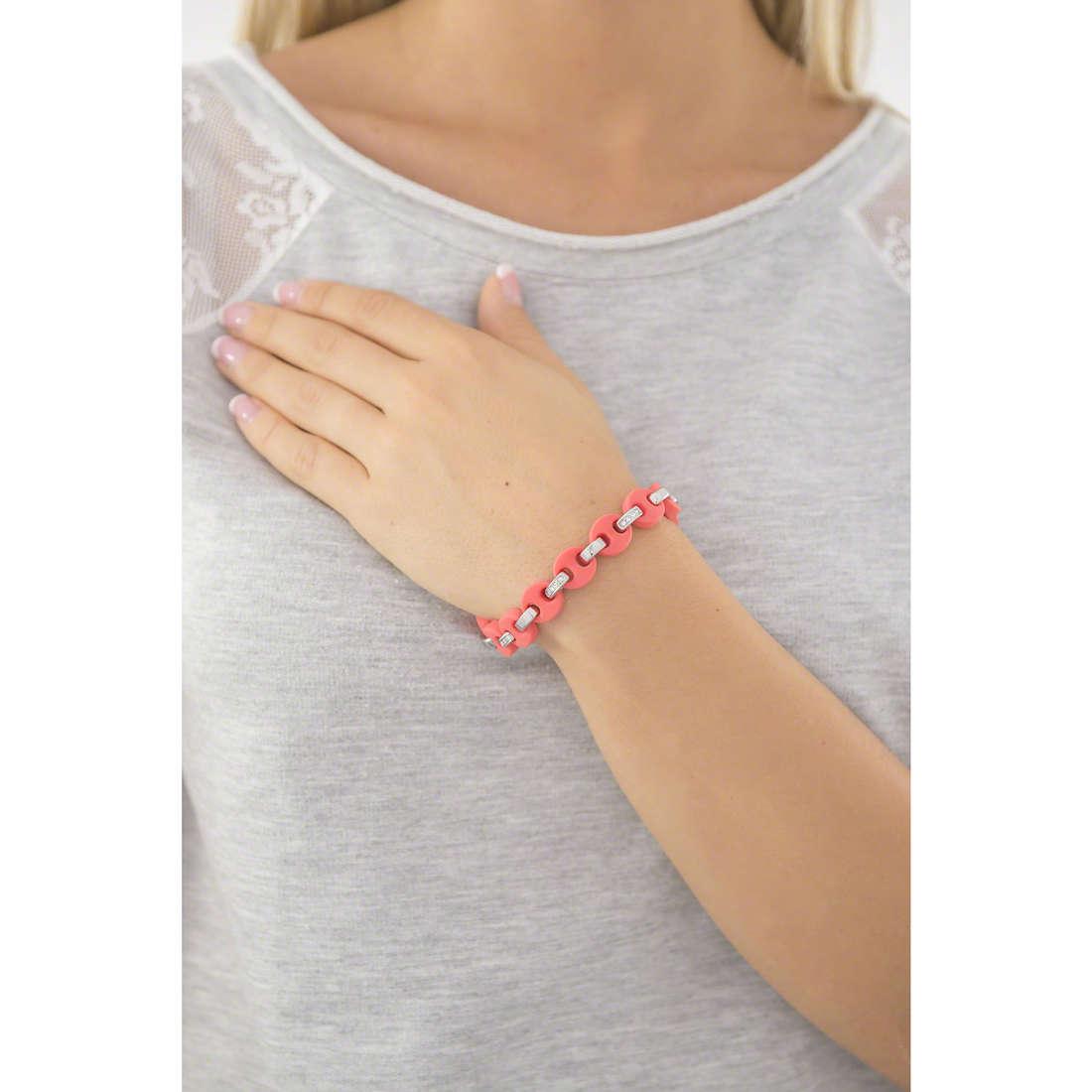 Hip Hop bracelets Bon Ton femme HJ0209 indosso