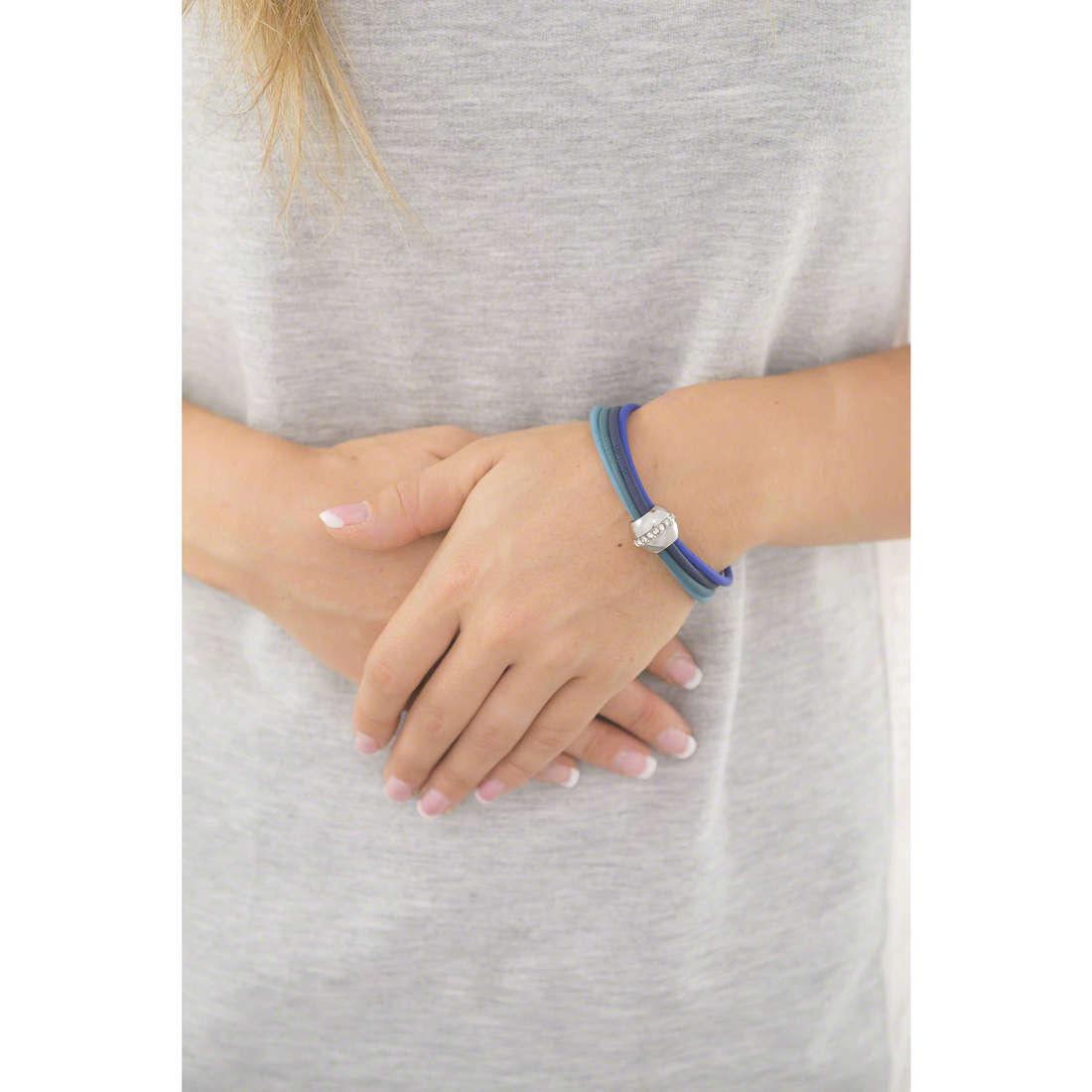 Hip Hop bracelets Cheer femme HJ0225 indosso