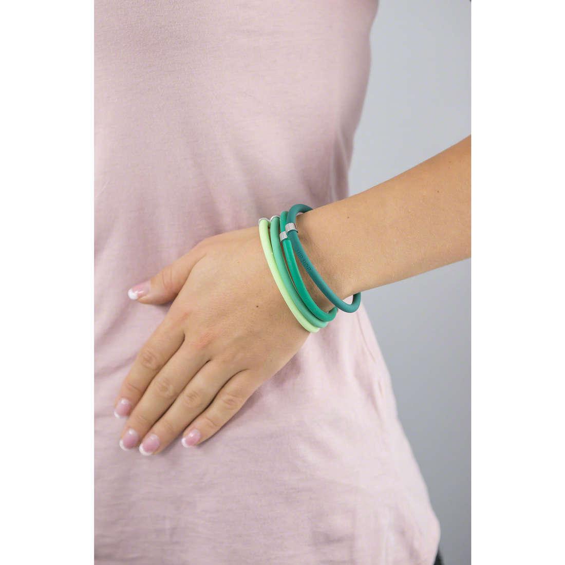 Hip Hop bracelets Happy Loops femme HJ0105 indosso