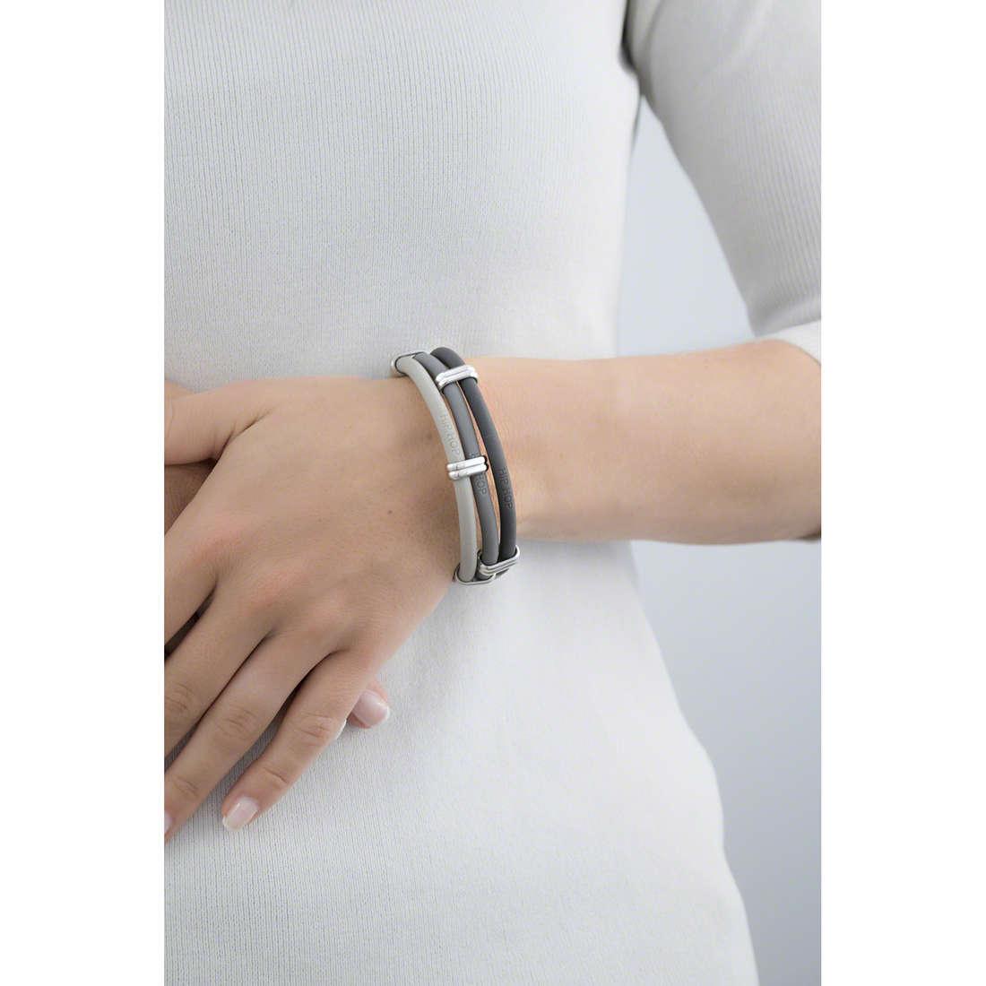 Hip Hop bracelets Happy Loops femme HJ0174 indosso
