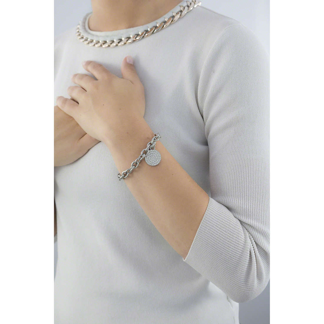 Luca Barra bracelets Roxanne femme LBBK1079 indosso