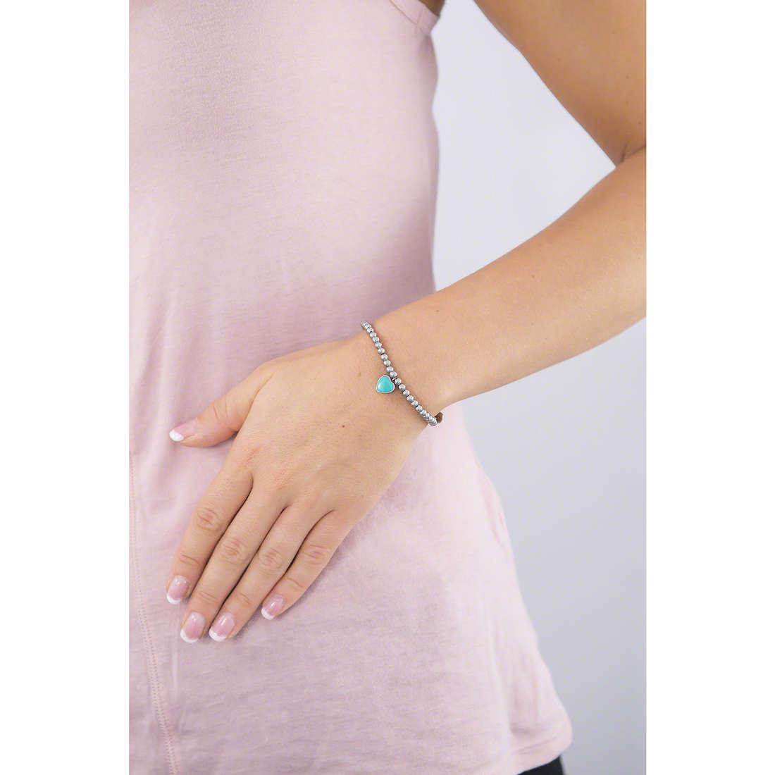Marlù bracelets My Word femme 18BR045T indosso