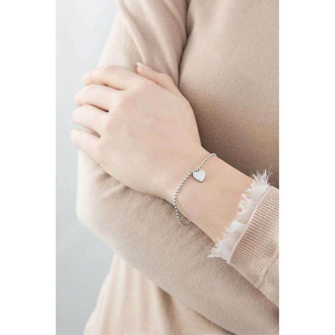 Marlù bracelets My Word femme 18BR046 indosso