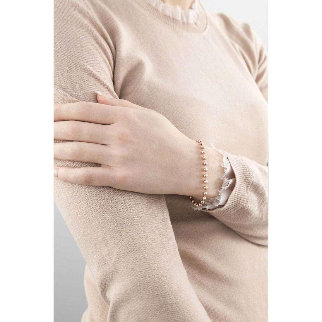 Marlù bracelets Nel mio Cuore femme 15BR011R indosso