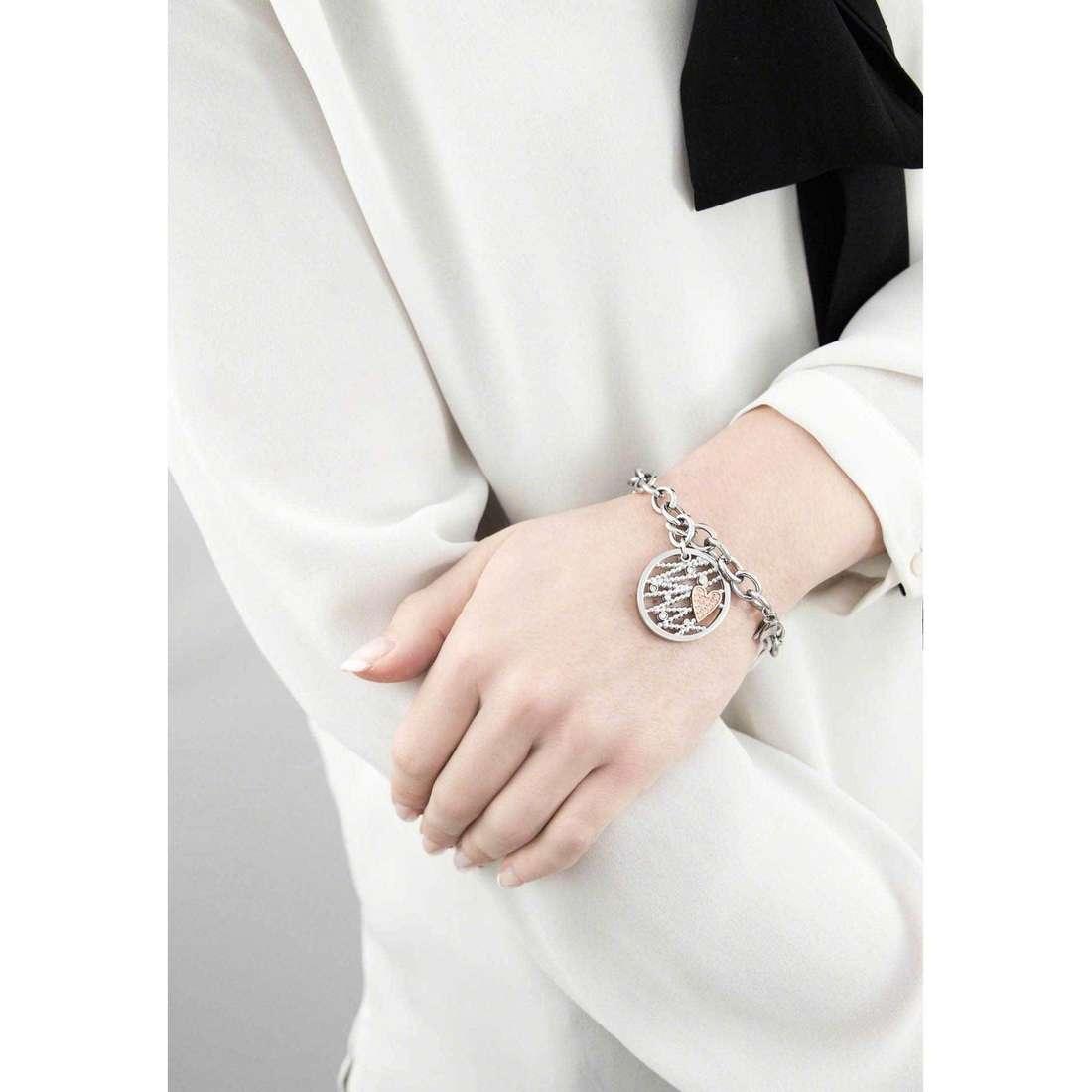 Morellato bracelets Cuore Mio femme SADA08 indosso