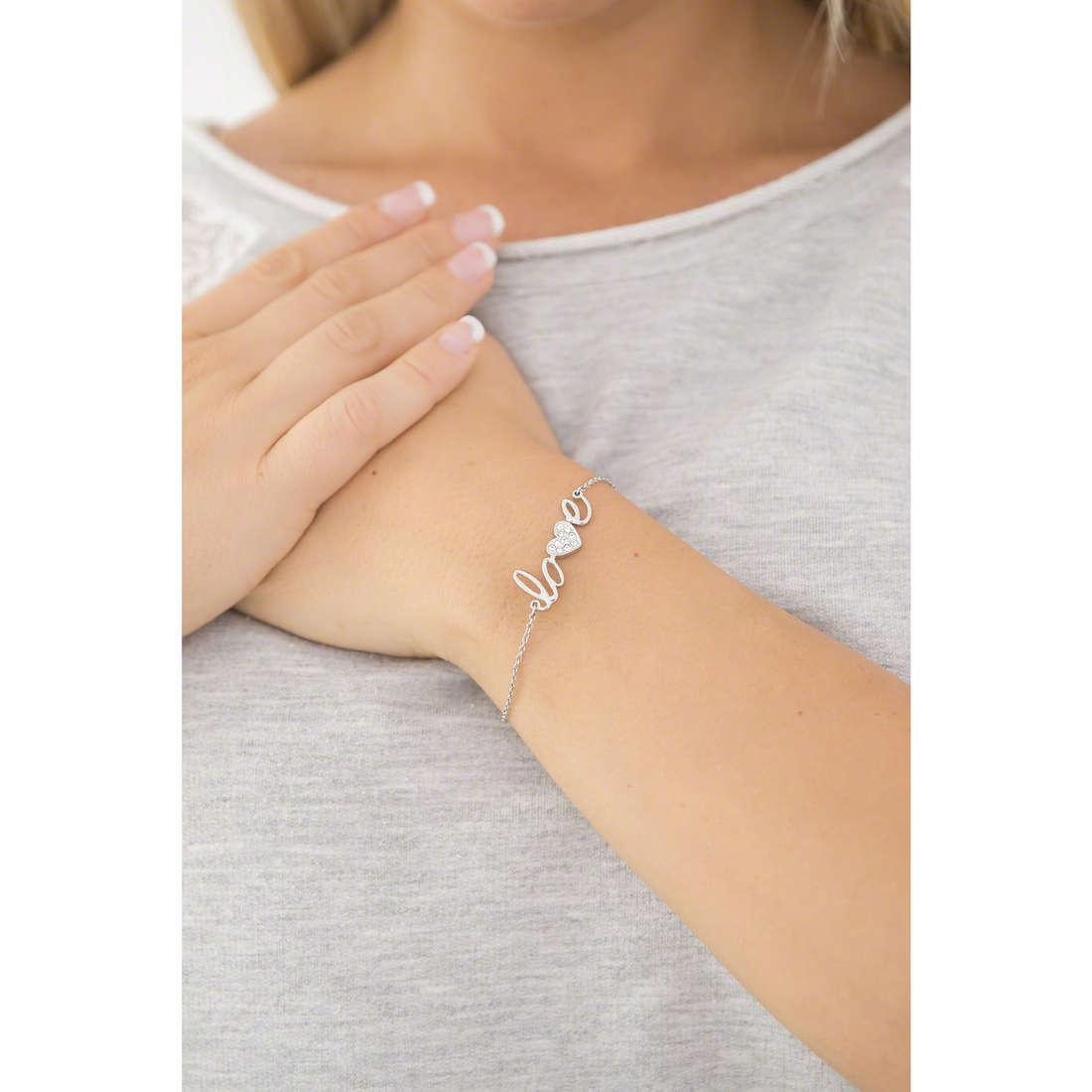 Morellato bracelets I-Love femme SAEU05 indosso