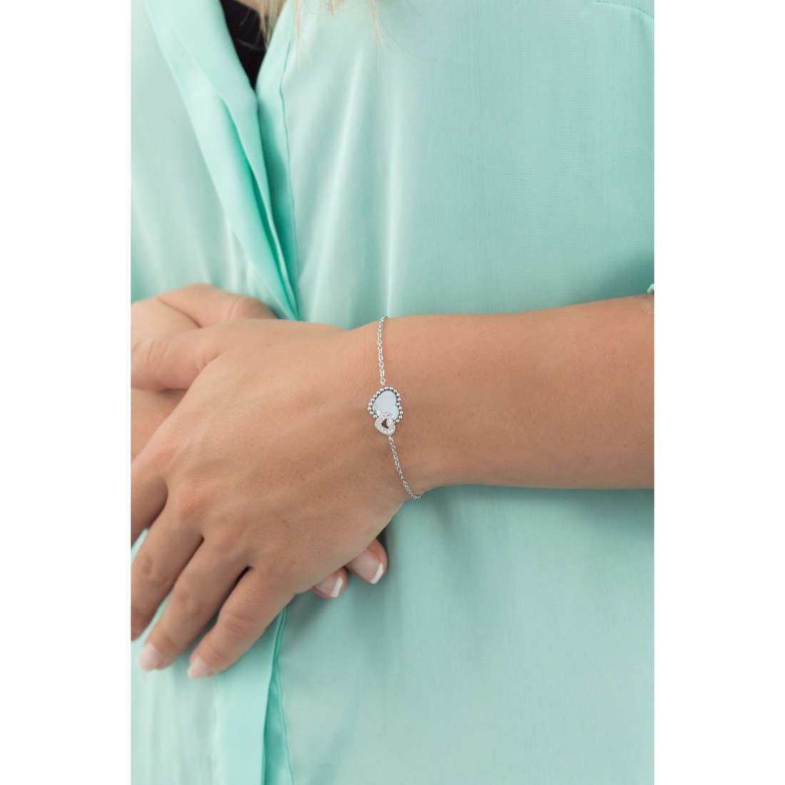 Morellato bracelets Sempreinsieme femme SAGF10 indosso