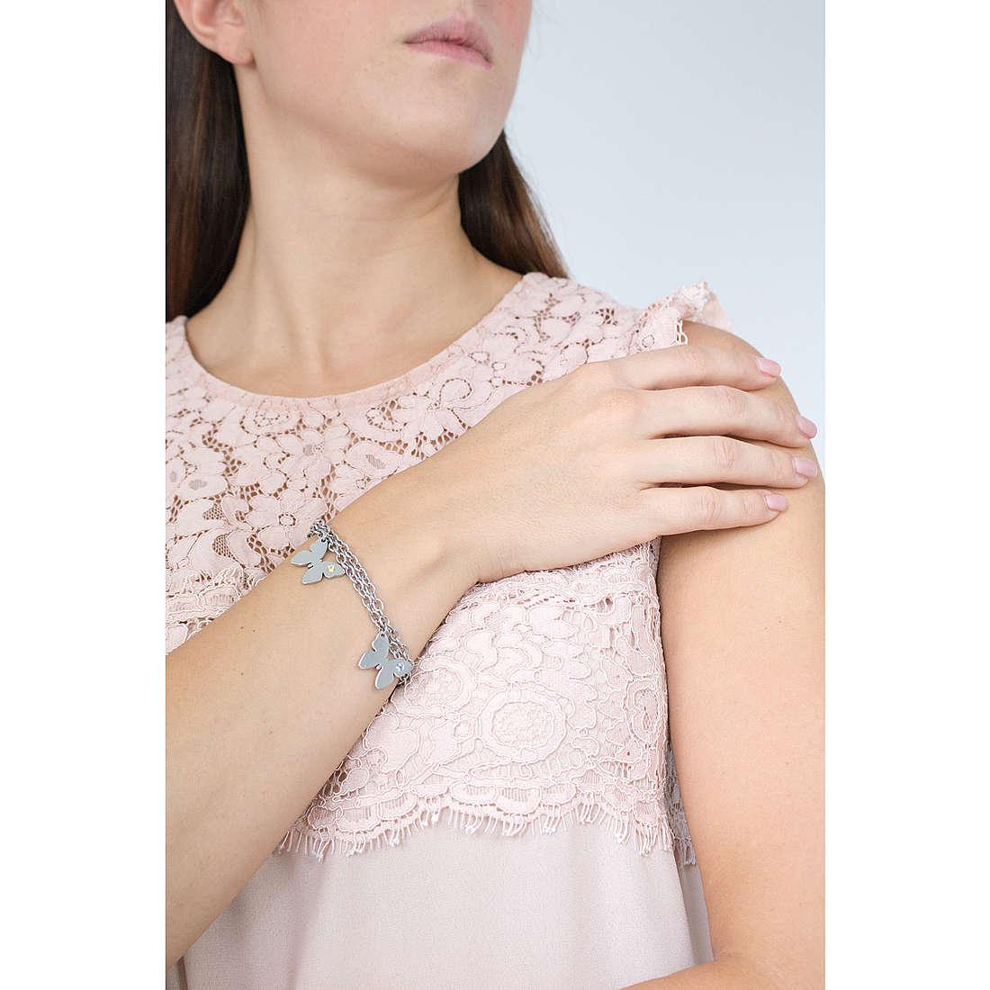 Nomination bracelets Butterfly femme 021316/016 photo wearing