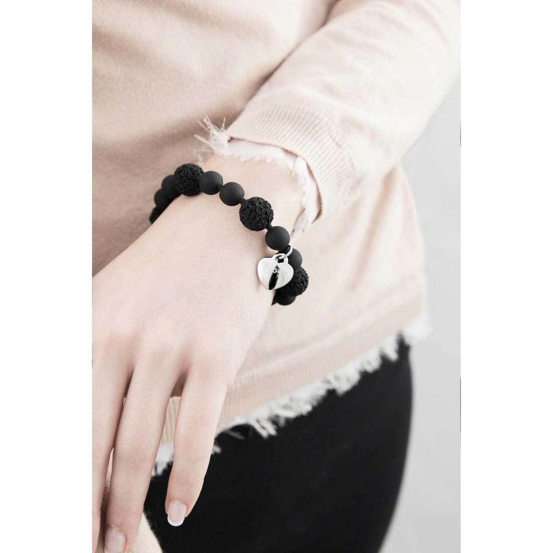 Ops Objects bracelets Boule De Rose femme OPSBR-240 indosso