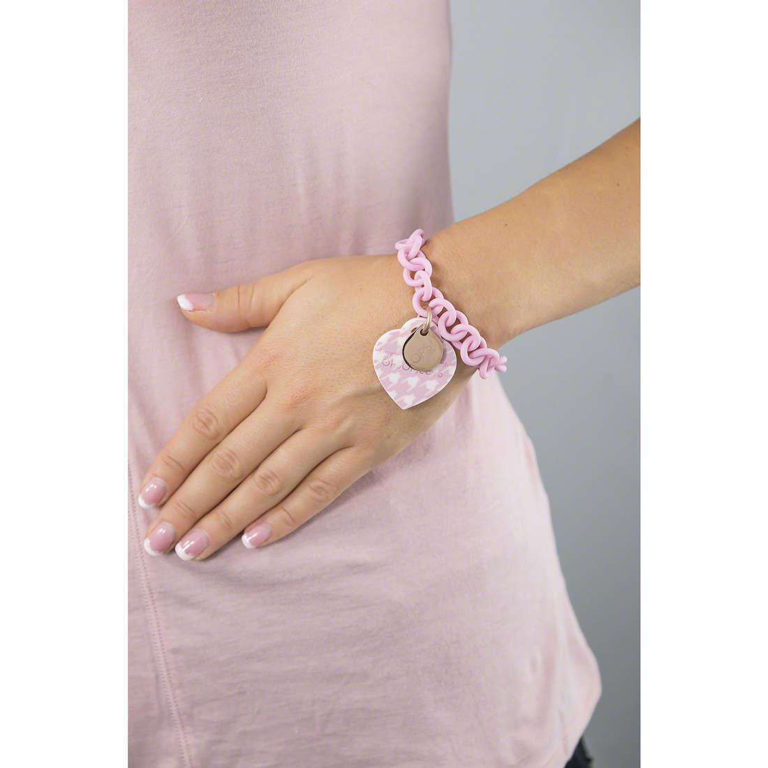 Ops Objects bracelets Ops! Pied De Poule femme OPSBR-161 indosso