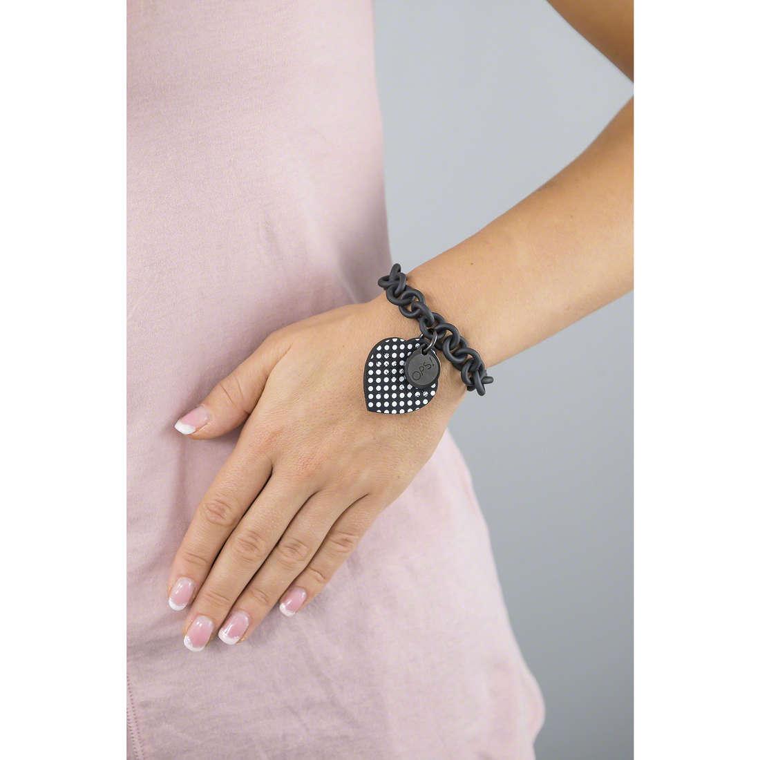 Ops Objects bracelets Pois femme OPSBR-30 indosso