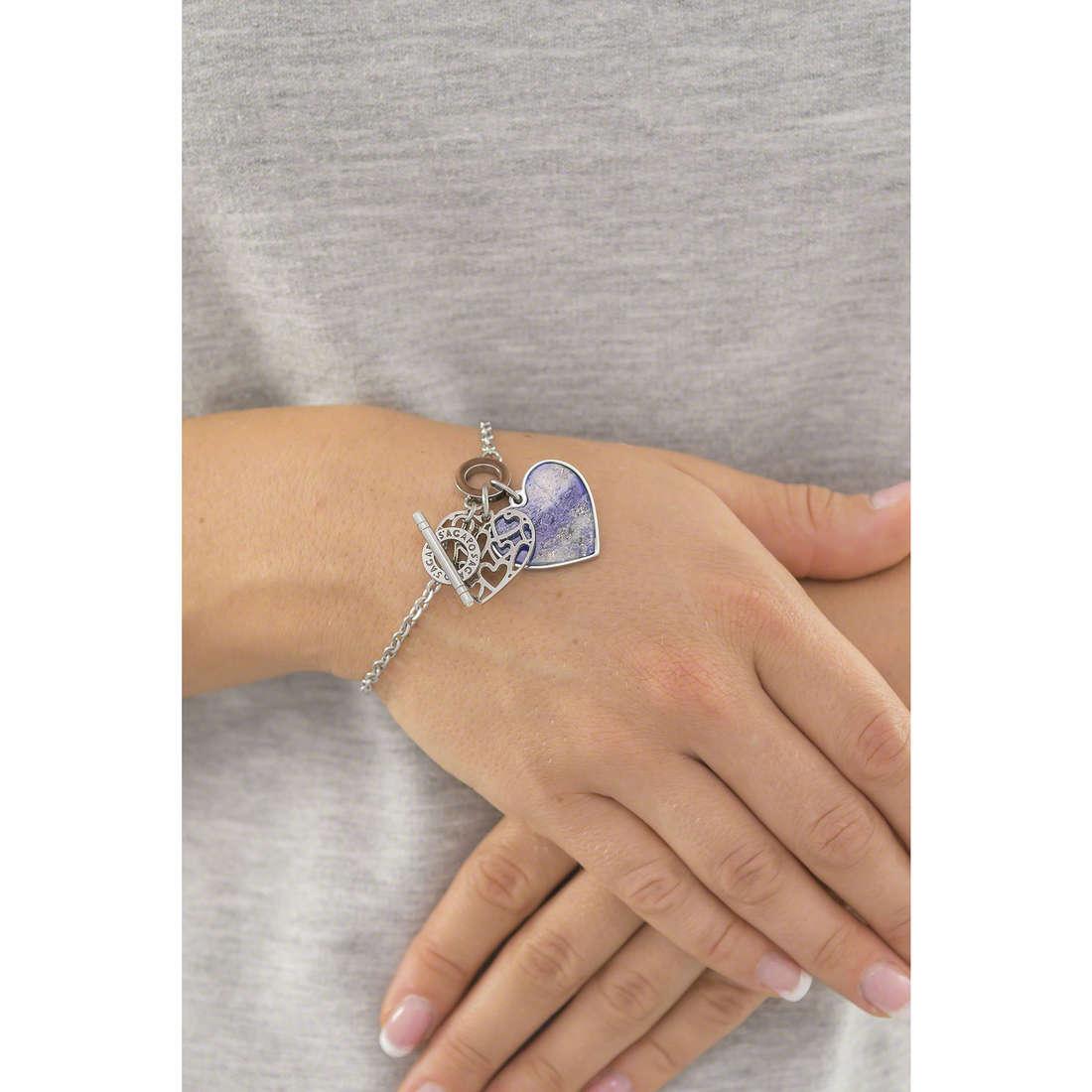 Sagapò bracelets Candy femme SCD16 indosso
