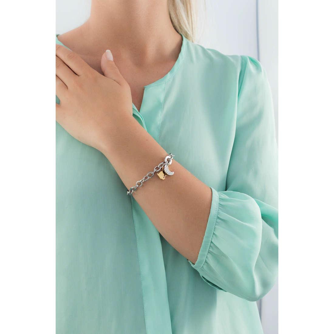 Sagapò bracelets Honey femme SHN12 indosso