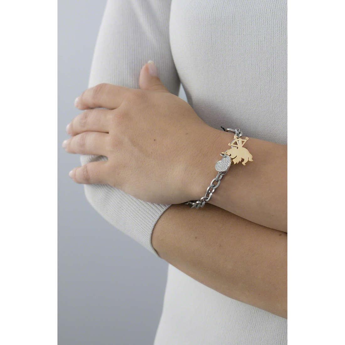 Sagapò bracelets Honey femme SHN17 indosso